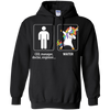 Dabbing Waiter unicorn vs CEO doctor engineer Hoodie Sweatshirts - Stephen & Kiara