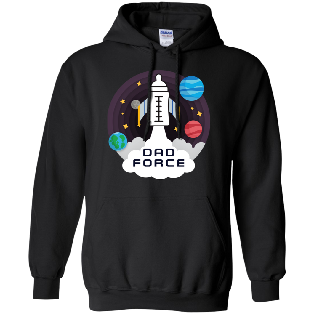 Dad Force 1 Hoodie Sweatshirts - Stephen & Kiara