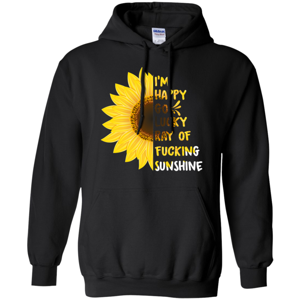 Go Lucky Ray Of Sunshine T-Shirt Sweatshirts - Stephen & Kiara