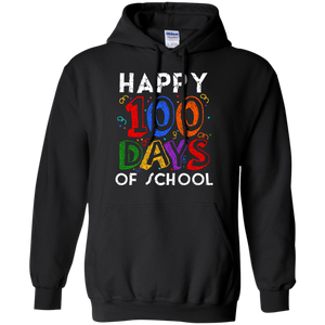 Happy 100 Days Of School Hoodie Sweatshirts - Stephen & Kiara