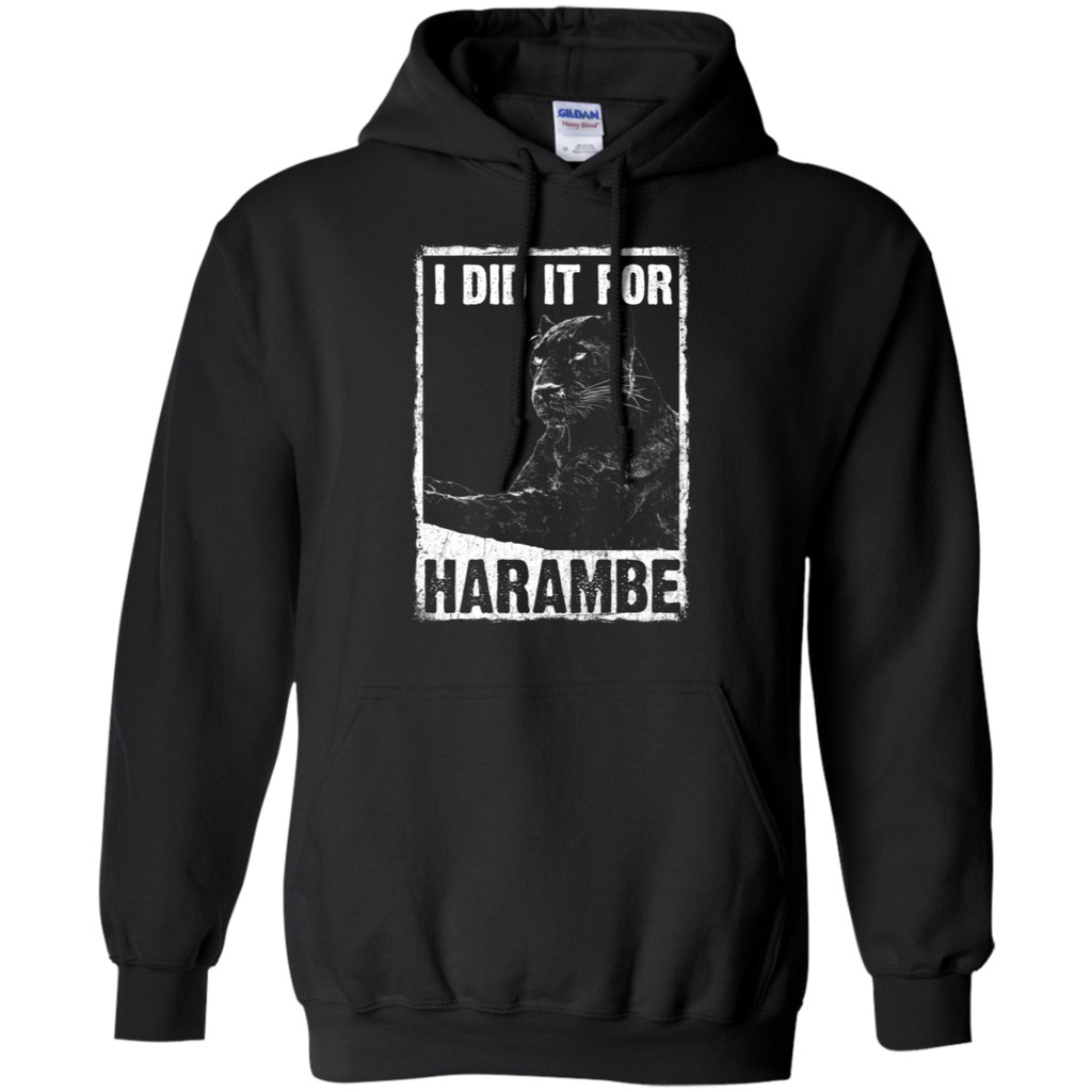 I Did It For Harambe Hoodie Sweatshirts - Stephen & Kiara