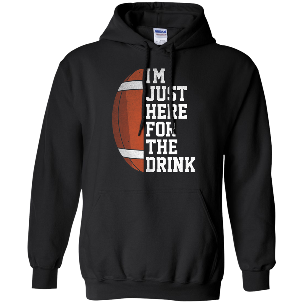 I'm Just Here For The Drink Hoodie - Stephen & Kiara