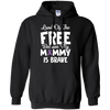 Land Of The Free Because My Mommy Is Brave Hoodie - Stephen & Kiara