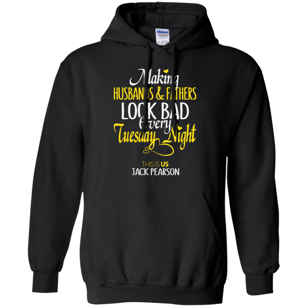Making Fathers And Husbands Look Bad Every Tuesday Hoodie - Stephen & Kiara