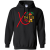 CustomCat Sweatshirts Black / S This Is XmUS Hoodie