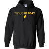 CustomCat Sweatshirts Black / S Tissuetuesday Hoodie