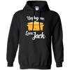 CustomCat Sweatshirts Black / S Unplug Me Love Jack Hoodie