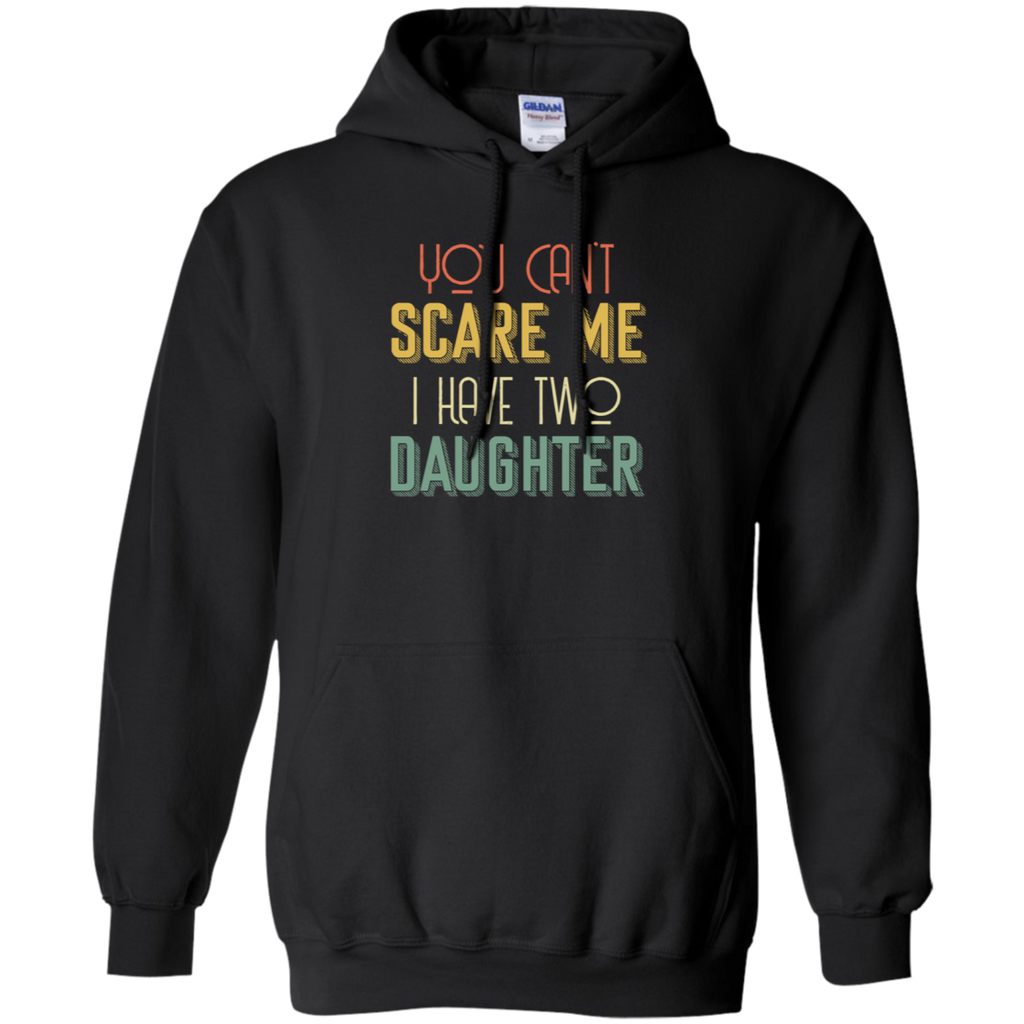 CustomCat Sweatshirts Black / S You Can't Scare Me Hoodie