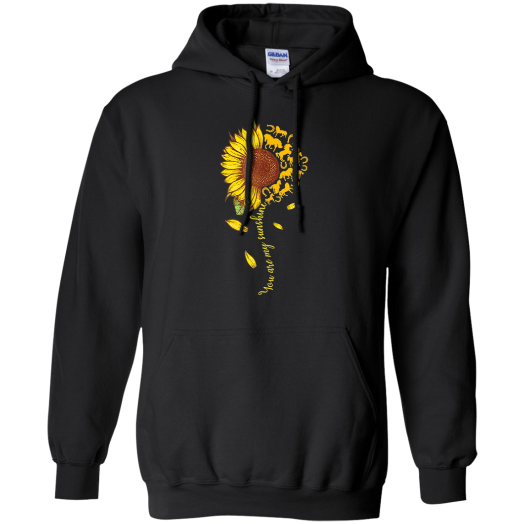 CustomCat Sweatshirts Black / S You're My Sunshine 2 Hoodie
