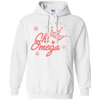 Chi Omega Pink Crown Sorority Hoodie Sweatshirts - Stephen & Kiara