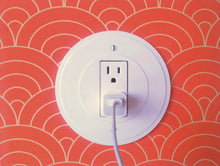 Round Eco-Friendly Outlet/Switch Plate Cover 5 Pack