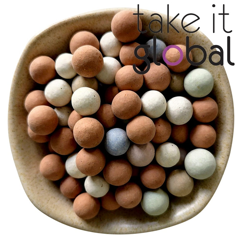 Ceramsite /  陶粒 / Ceramic Balls -   For  Gardening / Fish Tank Aquarium