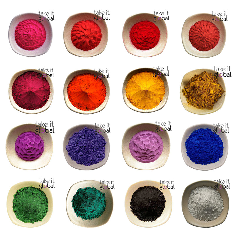 Iron Oxide / Ultramarine Matte Pigment Colours all - Cosmetics / Candle / Soap