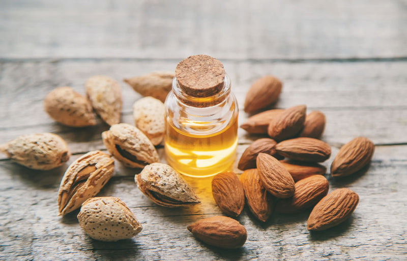 Sweet Almond Oil - Cold Pressed