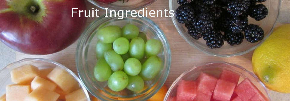 Fruit Ingredients