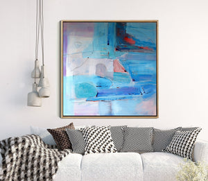 Daydreaming - Fine Art Abstract Giclee Print