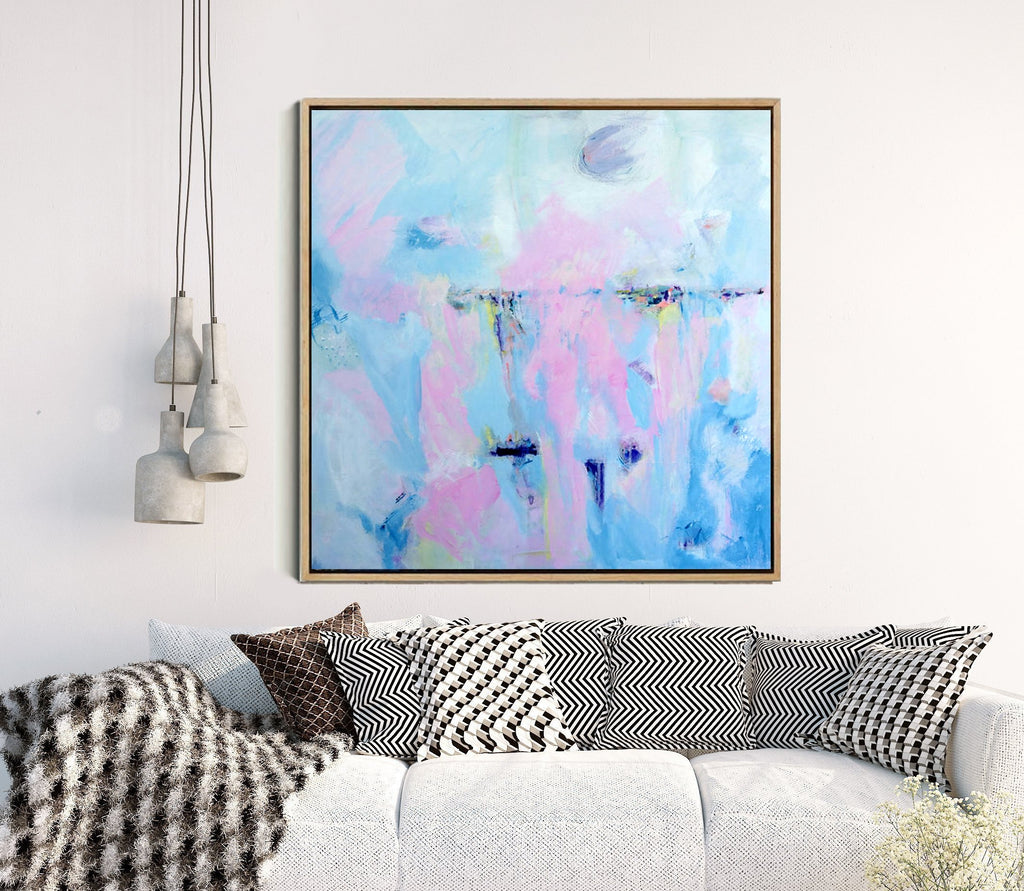 All At Sea - Abstract Art Print
