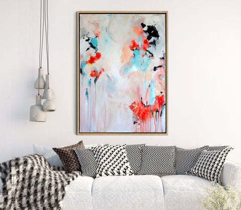 Serendipity - Colourful Abstract Art Print