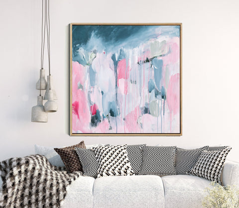 Beautiful On The Inside - Abstract Art Print