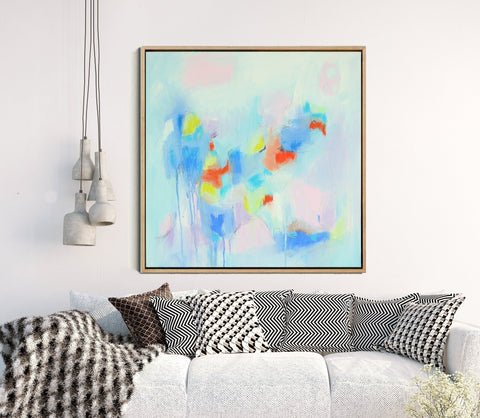 Candy Floss - Minimalist Abstract Print
