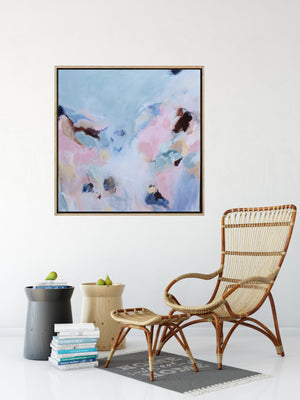 Somewhere Beautiful - Abstract Canvas Painting