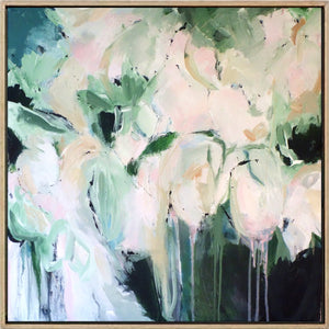 Spring Haze - Abstract Canvas Painting