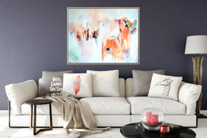 Wild Horses - Contemporary Abstract Print