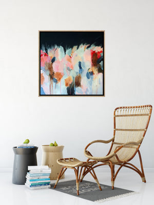 Summer Dreaming- Abstract Canvas Painting