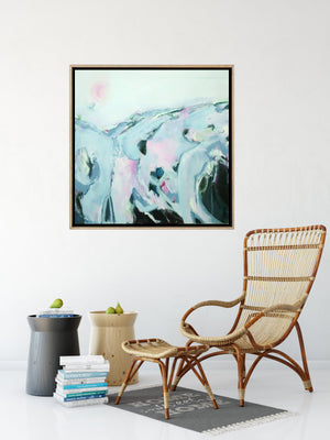 The Long Way Home - Abstract Canvas Painting
