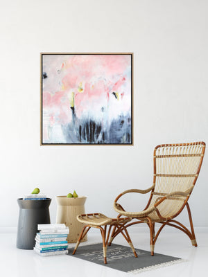 Pink Haze - Abstract Giclee Print
