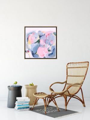 Mountain Pass - Original Abstract Painting