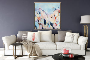 The Landscape Gathers - Abstract Art Print