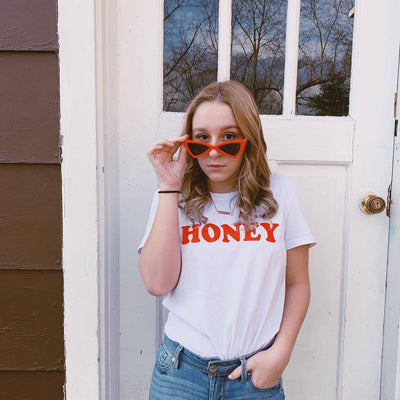 Honey soft women's fitted T-shirt