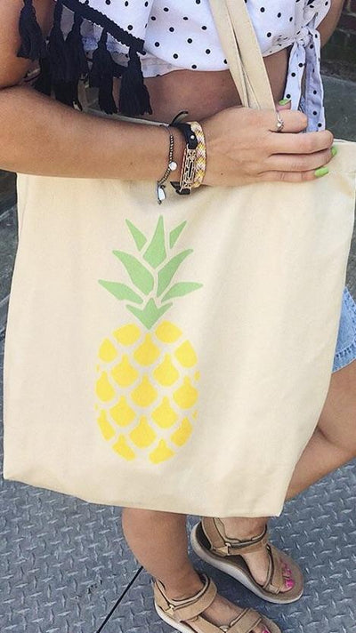 Pineapple Eco Tote Bag