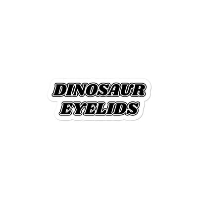 Dinosaur Eyelids stickers