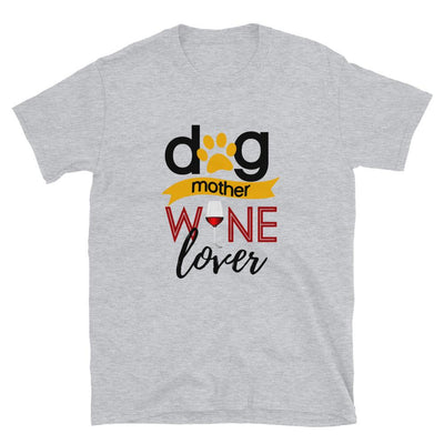 Dog Mother Wine Love Shirt