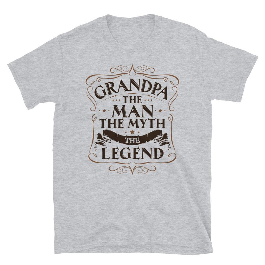 Grandpa Shirt The Man The Myth The Legend T-Shirt