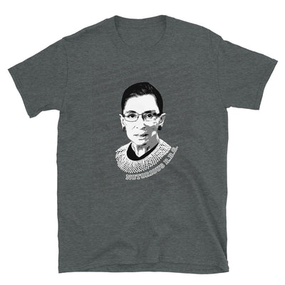 Pancakes and Wine - Notorious RBG short-sleeve t-shirt