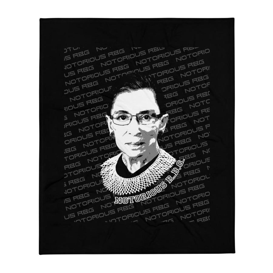 Notorious RBG Throw Blanket