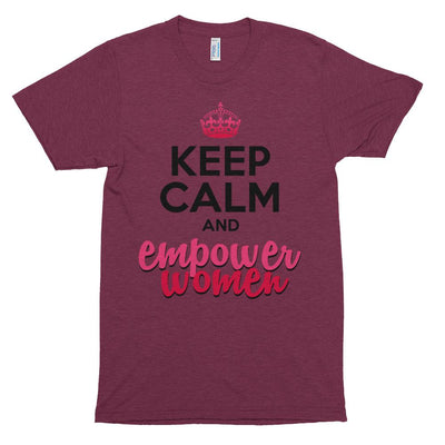 Keep Calm and Empower Women soft tee