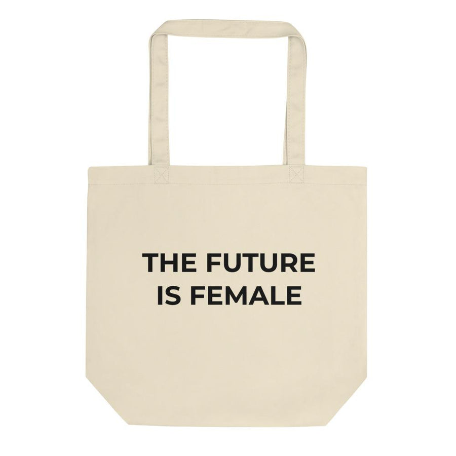 The Future is Female Natural Eco Tote Bag