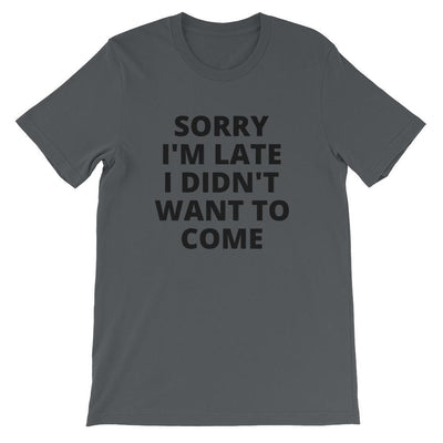 Sorry I'm Late relaxed fit tee