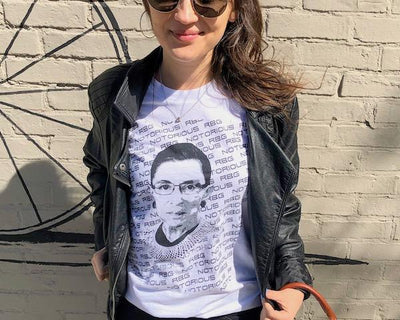 Notorious RBG short-sleeve t-shirt Made in the USA