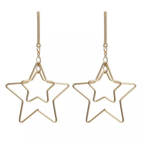 Starboy Earrings - Silver, Gold