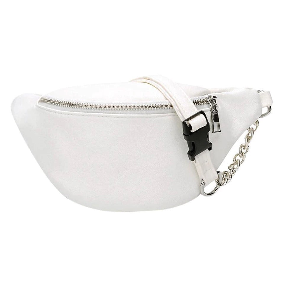 Stella Bum Bag - Black & White