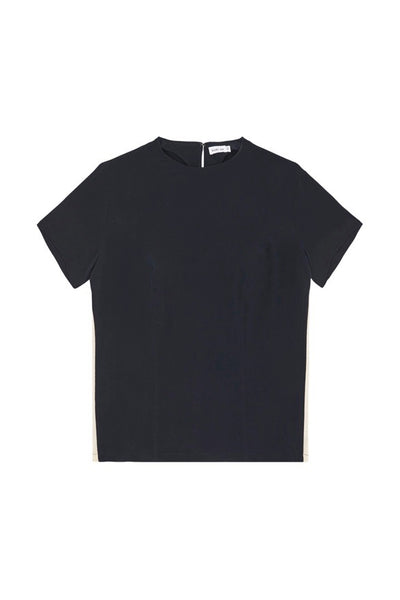 SOPHIE STRIPED TEE - NAVY