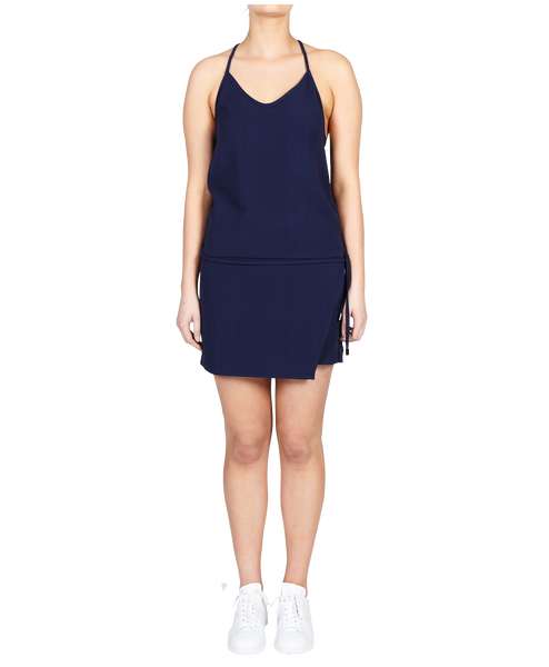 JORDAN FLIP DRESS - ROYAL NAVY