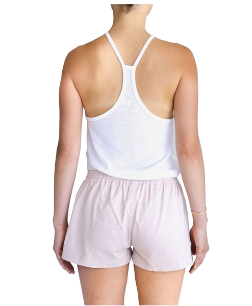 POCKET LEISURE SHORT - PALE PINK