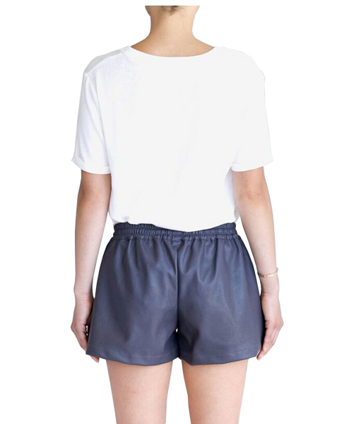 POCKET LEISURE SHORT - MAUVE