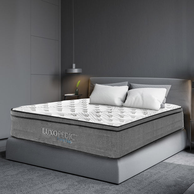 Luxopedic 5-Zone Euro Top Pocket Spring Mattress